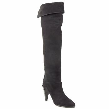 Čevlji  Ženske Visoki škornji Veronique Branquinho LIBERIUS Črna