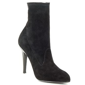 Čevlji  Ženske Gležnjarji Michael Kors STRETCH LB Črna