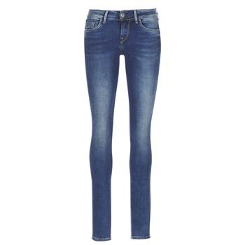 Oblačila Ženske Jeans skinny Pepe jeans SOHO Z63 / Modra