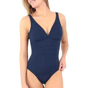 Oblačila Ženske Enodelne kopalke Janine Robin 991015-17 Modra
