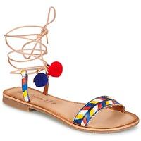 Čevlji  Ženske Sandali & Odprti čevlji Lola Espeleta EDWINA Modra
