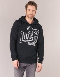 Oblačila Moški Puloverji Lonsdale TADLEY Črna