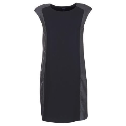 Oblačila Ženske Kratke obleke Armani jeans LAMIC Črna / Siva