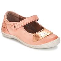Čevlji  Deklice Balerinke Kickers CALYPSO Koralna