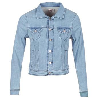 Oblačila Ženske Jeans jakne Yurban IHELEFI Modra / Svetla
