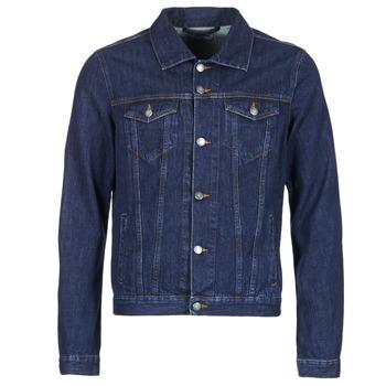 Oblačila Moški Jeans jakne Yurban IHEDEM Modra / Brut