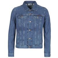 Oblačila Moški Jeans jakne Yurban IHEDEM Modra