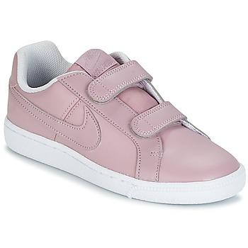 Čevlji  Deklice Nizke superge Nike COURT ROYALE CADET Rožnata