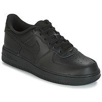 Čevlji  Otroci Nizke superge Nike AIR FORCE 1 CADET Črna