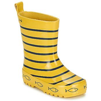 Čevlji  Otroci škornji za dež  Be Only TIMOUSS Rumena / Modra