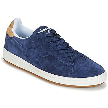 Čevlji  Moški Nizke superge Diadora GAME LOW SUEDE Modra