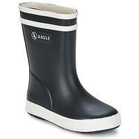 Čevlji  Otroci škornji za dež  Aigle BABY FLAC Modra