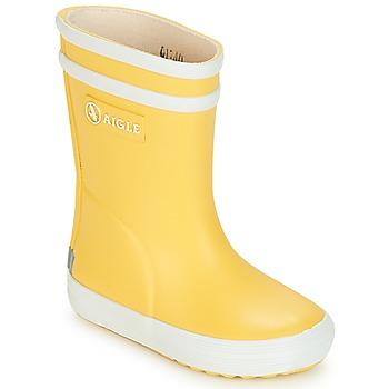 Čevlji  Otroci škornji za dež  Aigle BABY FLAC Rumena