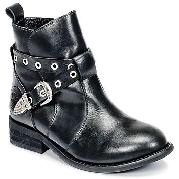 Čevlji  Deklice Polškornji Young Elegant People CALYPSO Črna