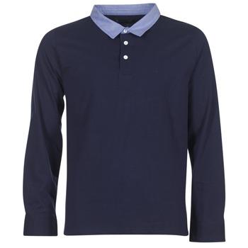 Oblačila Moški Polo majice dolgi rokavi Casual Attitude IHEYA Modra