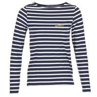 Oblačila Ženske Majice z dolgimi rokavi Betty London IFLIGEME Bela