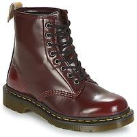 Čevlji  Polškornji Dr Martens VEGAN 1460 Rdeča