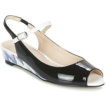 Čevlji  Ženske Sandali & Odprti čevlji Mellow Yellow DALY Črna