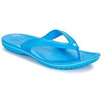 Čevlji  Japonke Crocs CROCBAND FLIP Modrá