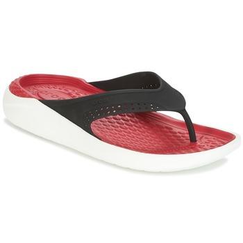Čevlji  Japonke Crocs LITERIDE FLIP Črna / Rdeča