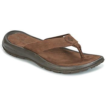 Čevlji  Moški Japonke Columbia MANAROLA II Kostanjeva