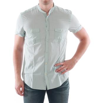 Oblačila Moški Srajce s kratkimi rokavi Antony Morato AMT05211 Verde claro