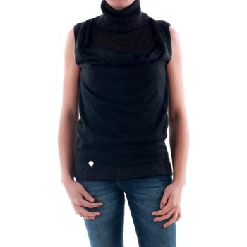 Oblačila Ženske Puloverji Amy Gee AMY04201 Gris oscuro