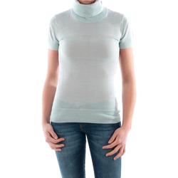 Oblačila Ženske Puloverji Amy Gee AMY04208 Azul claro