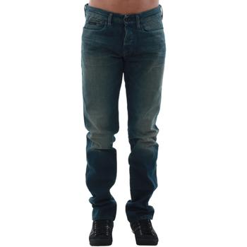 Oblačila Moški Jeans straight Calvin Klein Jeans J3IJ303173 Azul