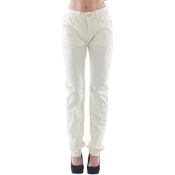 Oblačila Ženske Hlače s 5 žepi Fornarina FOR08007 Blanco roto