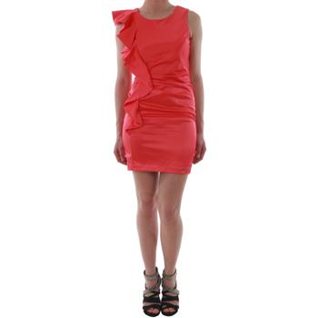 Oblačila Ženske Kratke obleke Rinascimento 2045/16_CORALLO_ROSSO Coral