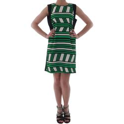 Oblačila Ženske Kratke obleke Rinascimento 263023_VERDE Verde
