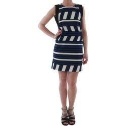 Oblačila Ženske Kratke obleke Rinascimento 263023_BLUE_CINA Azul marino