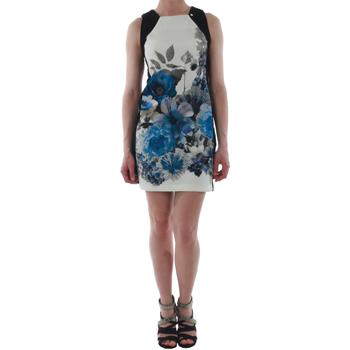 Oblačila Ženske Kratke obleke Rinascimento NUI_BLU_CINA Negro