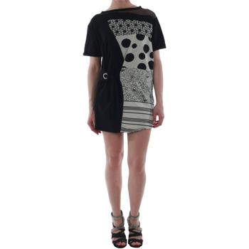 Oblačila Ženske Kratke obleke Rinascimento 82024_NERO Negro