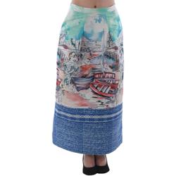 Oblačila Ženske Krila Rinascimento 4004/16_CELESTE Estampado