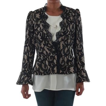 Oblačila Ženske Jakne & Blazerji Rinascimento 7643_BEIGE Negro