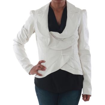 Oblačila Ženske Jakne & Blazerji Rinascimento 7690_BIANCO Blanco