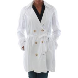 Oblačila Ženske Trenči Rinascimento 7540_BLANCO Blanco