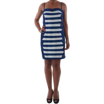 Oblačila Ženske Kratke obleke Rinascimento 322B.012_BLU Azul