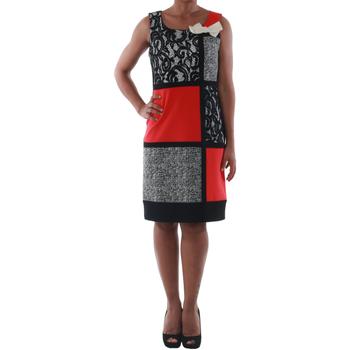 Oblačila Ženske Kratke obleke Rinascimento 7616A/B_CORALLO Negro