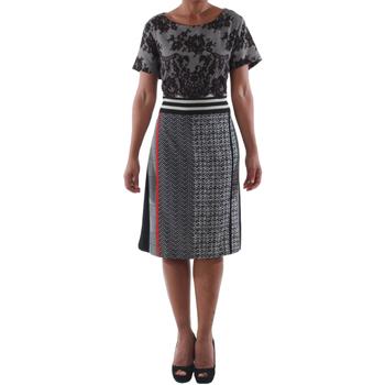 Oblačila Ženske Kratke obleke Rinascimento 9208/C_NERO Negro