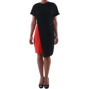 Oblačila Ženske Kratke obleke Rinascimento MIRANDA_ROSSO Negro