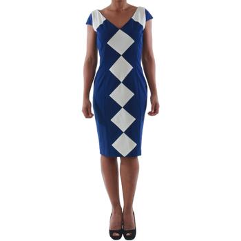 Oblačila Ženske Kratke obleke Rinascimento 241.012_BLU Azul