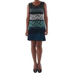 Oblačila Ženske Kratke obleke Rinascimento 82029_BLU Azul marino