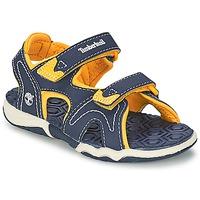 Čevlji  Otroci Sandali & Odprti čevlji Timberland ADVENTURE SEEKER 2-STRAP SANDAL Modra