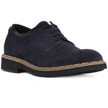 Čevlji  Moški Čevlji Derby Eveet CAMOSCIO BLU Blu