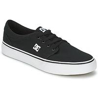 Čevlji  Moški Skate čevlji DC Shoes TRASE TX MEN Črna / Bela