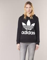 Oblačila Ženske Puloverji adidas Originals TREFOIL HOODIE Črna