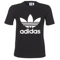 Oblačila Ženske Majice s kratkimi rokavi adidas Originals TREFOIL TEE Črna